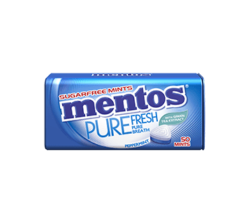 Mentos Pure Fresh Peppermint Tin