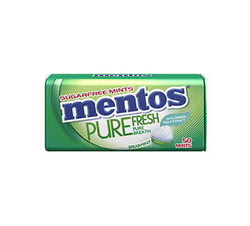 Mentos Pure Fresh Spearmint Tin