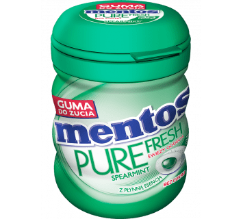 MENTOS PURE FRESH SPEARMINT BUTELKA