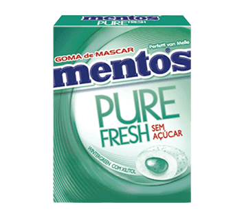 MENTOS PURE fresh- WINTERGREEN