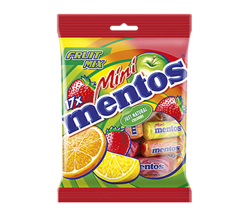 MENTOS MINI FRUIT MIX