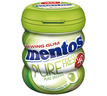 Mentos Pure Fresh Lime Mint - 40ks