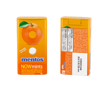 Mentos Dures Menthes Orange