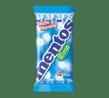 Bonbons Tendres Mentos Menthe fraîche 4 Pack