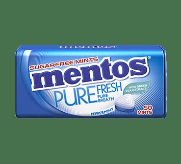Kẹo Ngậm Không Đường Mentos Pure Fresh Hương Peppermint