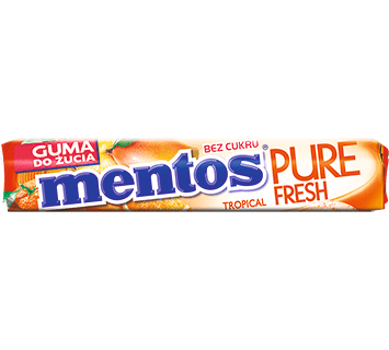 MENTOS PURE FRESH TROPICAL ROLKA