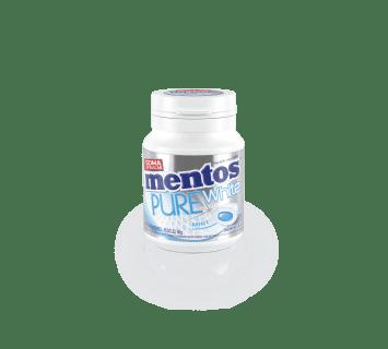 MENTOS PURE WHITE - menta