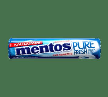 Mentos Kaugummi Pure Fresh Mint Rolle