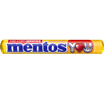 Mentos CompliMentos Strawberry Banana