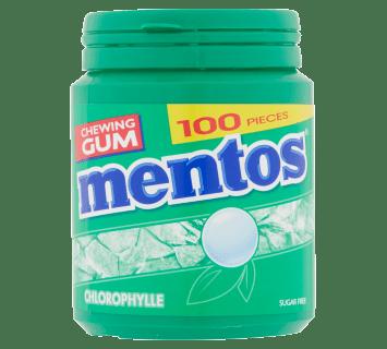 Mentos Gum - Chlorophylle pot