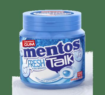 Mentos Gum Fresh Talk - Fresh Mint 55st