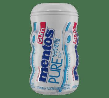 Pure White Sweet Mint - 50pc Curvy Bottle