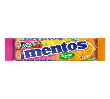 Mentos Fruit Duo Pack