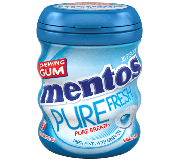 Mentos Gum Pure Fresh Freshmint Medium