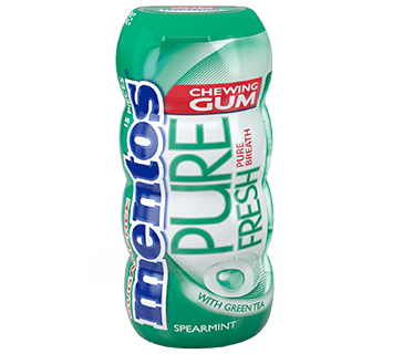 Mentos Gum Pure Fresh Spearmint Pocket