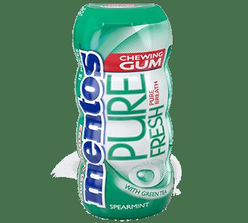 Mentos Gum Pure Fresh Spearmint Pocket