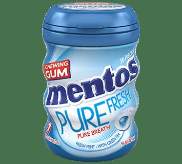 Mentos Gum Pure Fresh Freshmint Medium