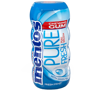 Mentos Gum Pure Fresh Freshmint Pocket