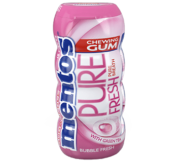 Mentos Gum Pure Fresh Bubble Fresh Pocket