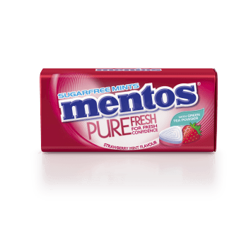 Mentos Pure Fresh - Strawberry Mint Tin