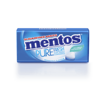 Mentos Pure Fresh - Peppermint Tin