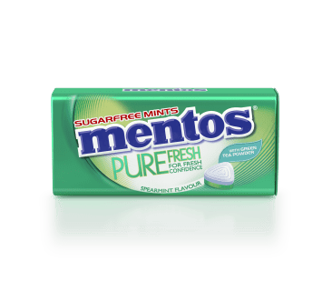Mentos Pure Fresh - Spearmint Tin