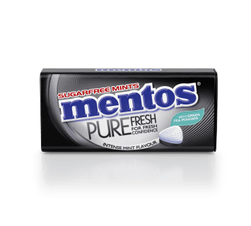 Mentos Pure Fresh - Intense Mint Tin