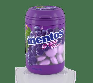 Mentos Grape Bottle