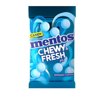 Mentos Chewy & Fresh - Peppermint - 11g