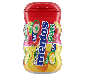 Red Fruit Lime & Tropical - 50pc Curvy Bottle