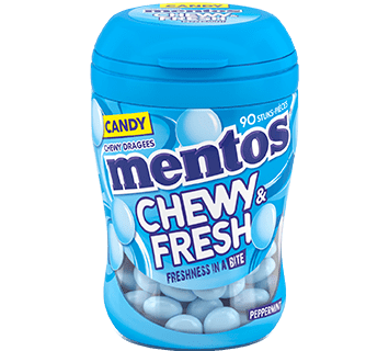 MENTOS CHEWY & FRESH PEPPERMINT