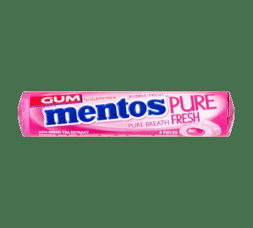 Mentos Pure Fresh Gum Bubble Fresh Roll 8pcs