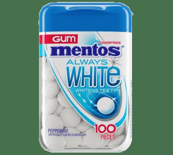 Always White Peppermint - 100pc Bottle
