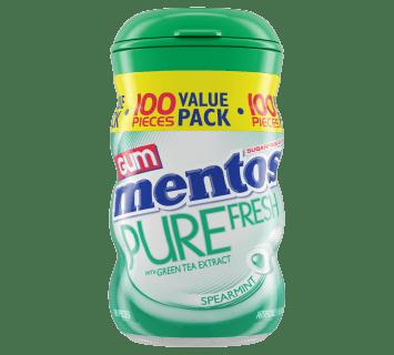 Pure Fresh Spearmint - 100pc XL Curvy Bottle