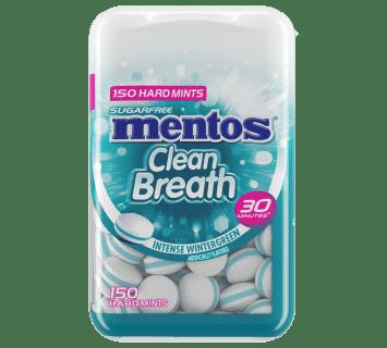 Cleanbreath Mints Intense Wintergreen -150pc Bottle