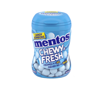 Mentos Chewy & Fresh Peppermint Bottle