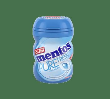 Mentos Gum Mini Potje - Pure Fresh Fresh Mint