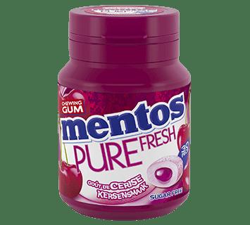 Mentos Gum Pure Fresh - Cerise pot