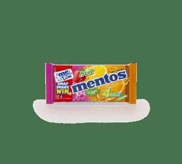 Mentos Fruit 4 Pack