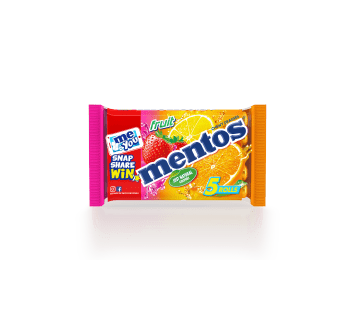 Mentos Fruit 5 Pack