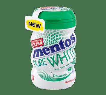 MENTOS KAUGUMMI PURE WHITE SPEARMINT