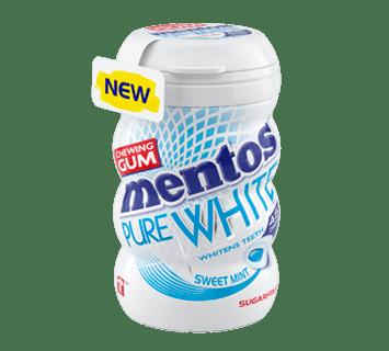 MENTOS KAUGUMMI [br/]PURE WHITE SWEETMINT