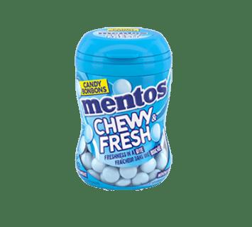 Bouteille de Mentos Chewy & Fresh menthe poivrée