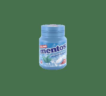 Mentos Gum Peppermint Bottle 40pcs