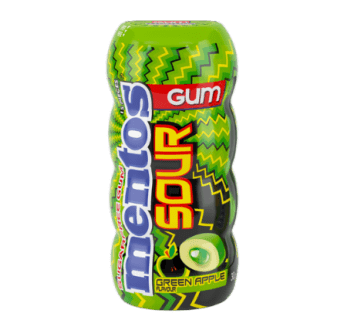 Mentos Sour Green Apple Sugarfree Bottle