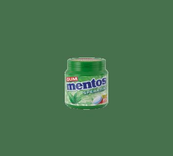Mentos Gum Spearmint Bottle 85pcs