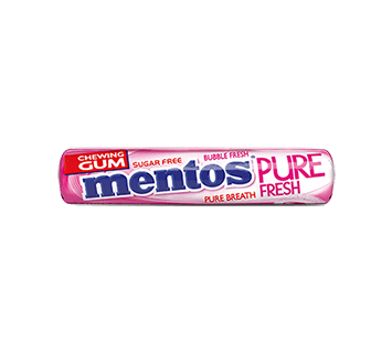 Mentos Pure Fresh Gum Roll Bubble Fresh - 8 ks
