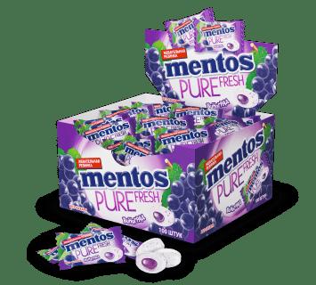 Mentos Pure Fresh ВИНОГРАД