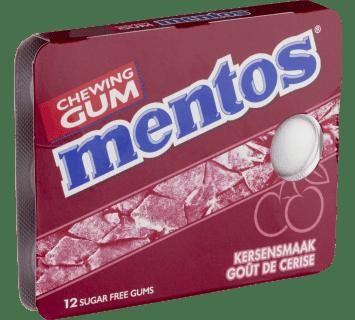 Mentos Gum  - Kersensmaak pakje