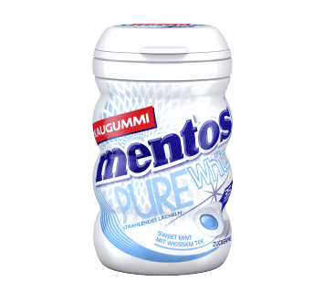 Mentos Kaugummi Pure White Sweet Mint